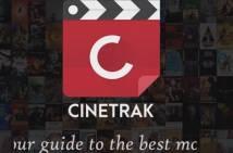 CineTrak: Ihr Film und TV Show Tagebuch + MOD