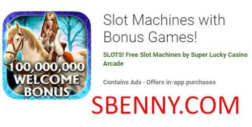 Spielautomaten mit Bonusspielen + MOD