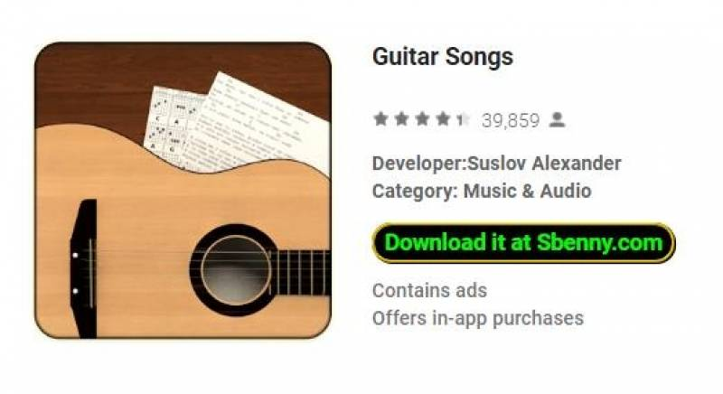 Gitarren-Songs + MOD