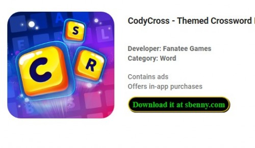 CodyCross - Themed Crossword Puzzles + MOD