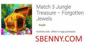 Match 3 Jungle Treasure - Forgotten Jewels + MOD