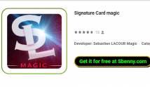 Signaturkarte Magie + MOD