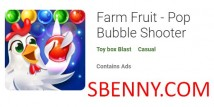 Farm Fruit - Pop Bubble Shooter + MOD