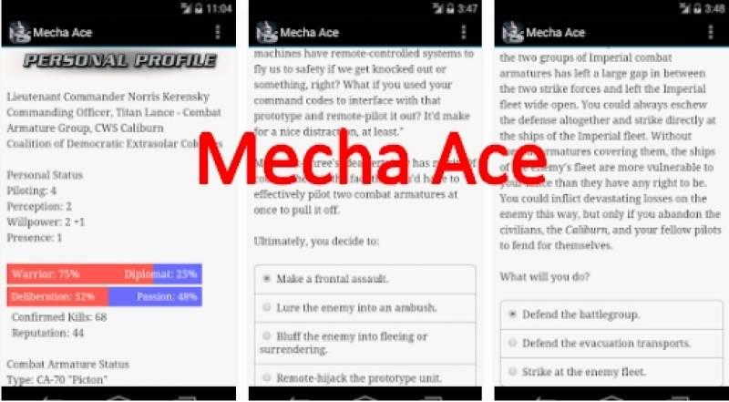Mecha Ace + MOD