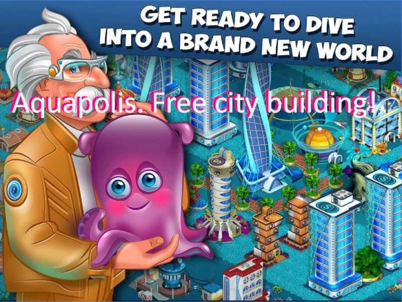 Aquapolis. Free city building! + MOD