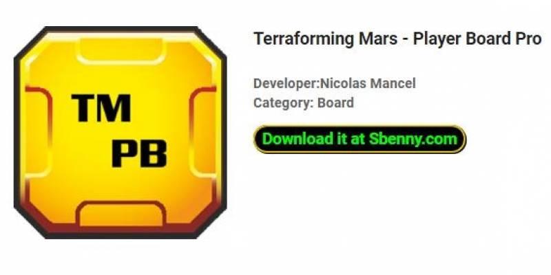 Terraforming Mars - Bord tal-Plejers Pro