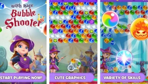 Witch Magic: Bubble Shooter + MOD