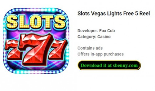Slots Vegas Lights Free 5 Reel + MOD