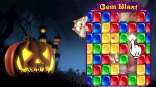 Gem Blast: Magic Match Puzzle + MOD