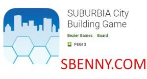 Juego de construcción de la ciudad de SUBURBIA + MOD