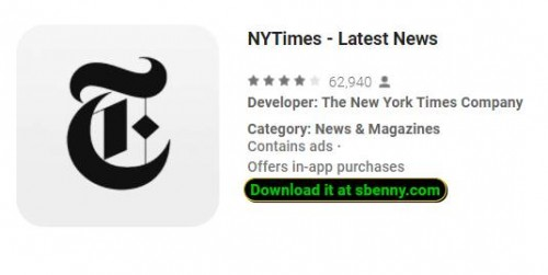 NYTimes - Últimas noticias + MOD