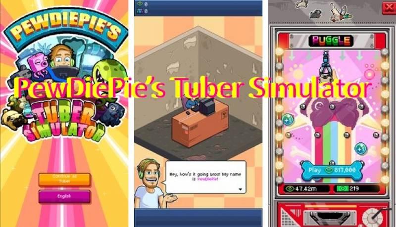 Tuberu Simulatur + MOD PewDiePie tal