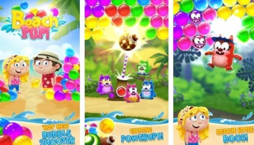 Beach Pop - Beach Bubble Shooter Games + MOD