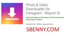 Фото & amp; Загрузчик видео для Instagram - Repost IG + MOD