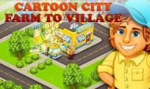 Cartoon Stadt: Bauernhof Dorf + MOD