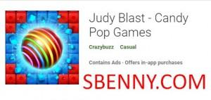 Judy Blast - Candy Pop Spiele + MOD
