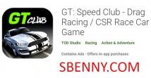 GT: Speed Club - Course de dragsters / Jeu de voiture de course RSE + MOD