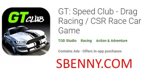 GT: Speed ​​Club - Drag Racing / CSR Rennwagen Spiel + MOD