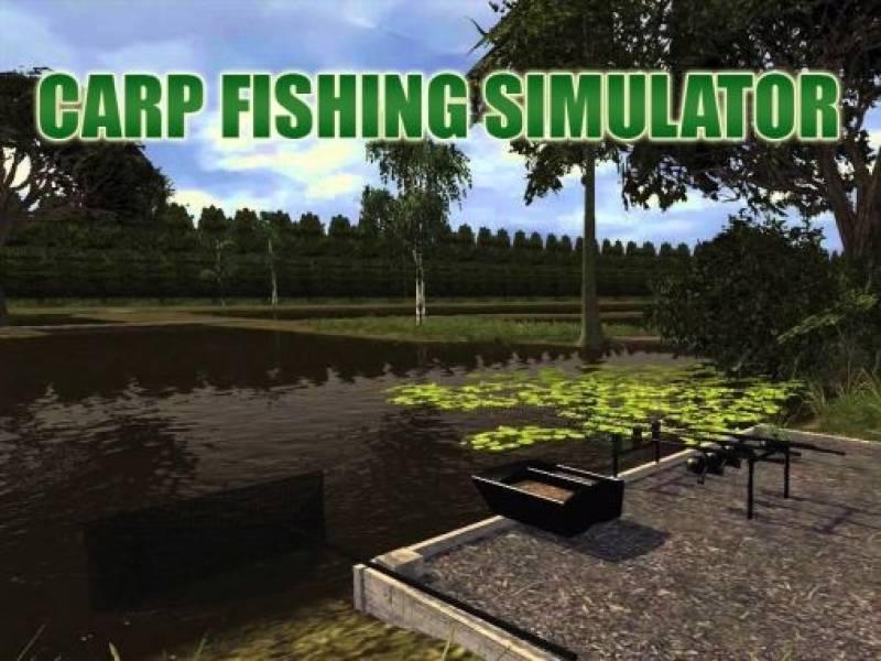 Simulador de pesca da carpa