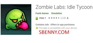 Labs Zombie: Idle Tycoon + MOD