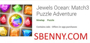 Драгоценности Океана: Match3 Puzzle Adventure + MOD