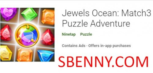 Jewels Ocean: Match3 Puzzle Adventure + MOD
