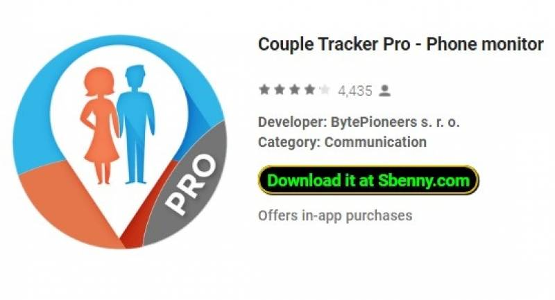 Couple Tracker Pro - Monitor del telefono