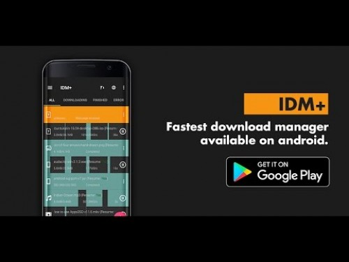 IDM +: Download de áudio, vídeo, torrents