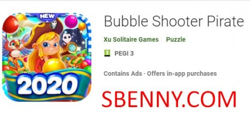 Bubble Shooter Pirata + MOD