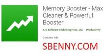 Reforço de memória - Max Cleaner & amp; Poderoso impulsionador + MOD
