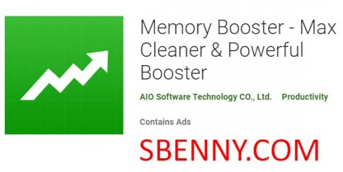 Memory Booster - Max Cleaner & amp; Potente Booster + MOD