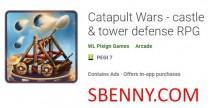 Guerras da Catapulta - castelo & amp; defesa de torre RPG + MOD