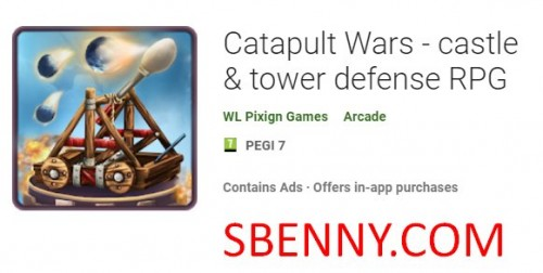 Catapult Wars - Burg & Amp; Tower Defense RPG + MOD