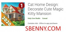 Cat Home Design: Décorez le mignon manoir Magic Kitty + MOD