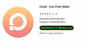 Orzak - Icon Pack (Bêta)