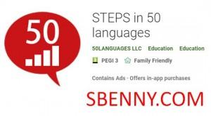 SCHRITTE in 50-Sprachen + MOD