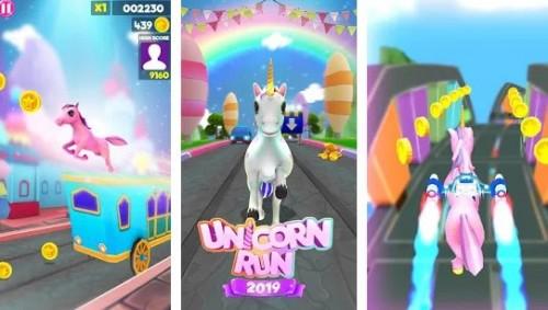 Unicorn Runner 2020: Running Game. Magic Adventure + MOD