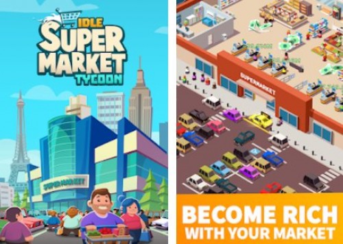 Leerlauf Supermarkt Tycoon - Tiny Shop Game + MOD