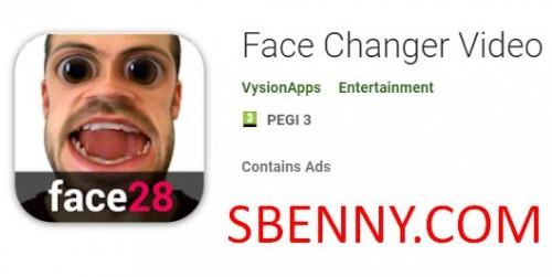 Changeur de visage vidéo + MOD