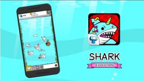 Shark Evolution - Fierce Shark Making Clicker + MOD