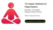 10% Happier: Meditação para céticos Fidgety + MOD