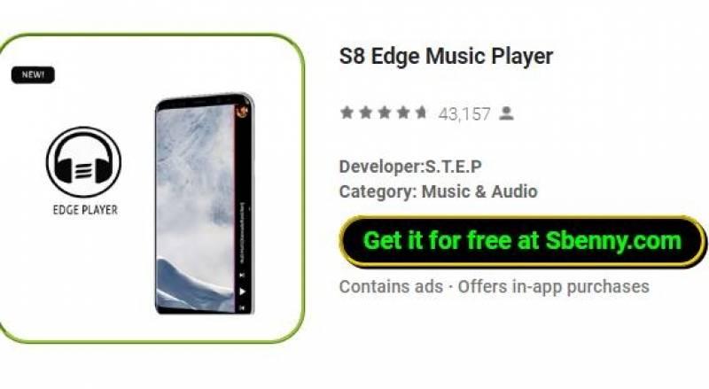 S8 Edge Mużika Player + MOD