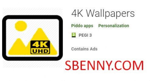 Fonds d'écran 4K + MOD