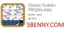Sudoku classique PRO (sans publicité)