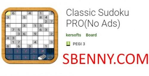 Classic Sudoku PRO (Nessuna pubblicità)