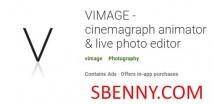 VIMAGE - animador cinemagraph & amp; editor de fotos ao vivo + MOD