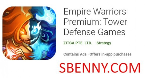 Empire Warriors Premium: Juegos de defensa de la torre + MOD