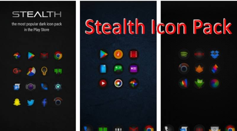 Stealth Icon Pack + MOD