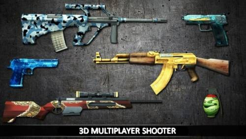 3D Multiplayer Shooter + MOD