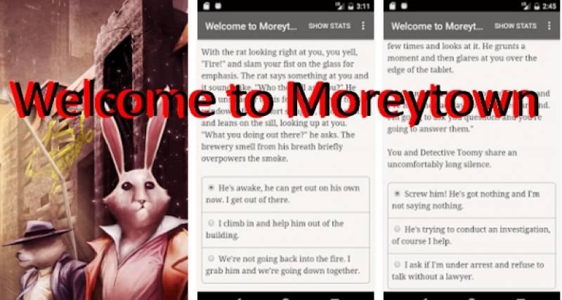 Bem-vindo ao Moreytown + MOD